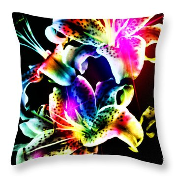 Stack Of Stargazers Dreaming Throw Pillow by Mick Anderson