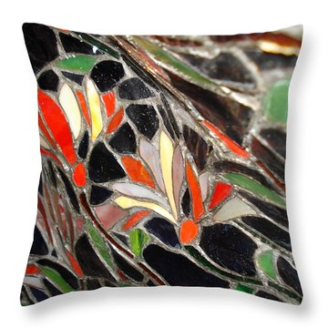 Stained Glass Two Throw Pillow
