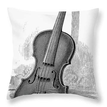 Stainer Violin Throw Pillow