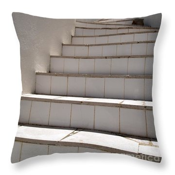 Stair To The Sky Throw Pillow