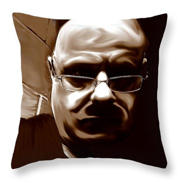 Stalker IIi  Throw Pillow