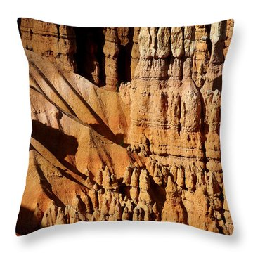 Throw Pillow featuring the photograph Stand Tall by Vicki Pelham