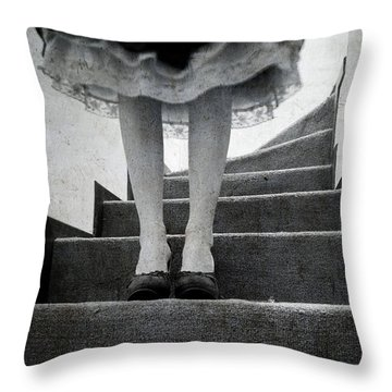 Standing Throw Pillow by Laura Melis