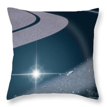 Star Occultation Throw Pillow
