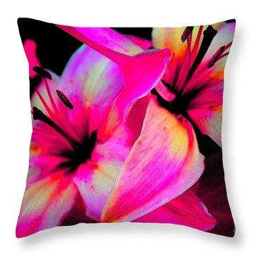 Stargazer Abstract Throw Pillow