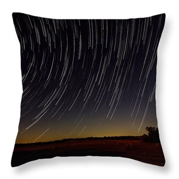 Starry Night Throw Pillow by Dan Wells