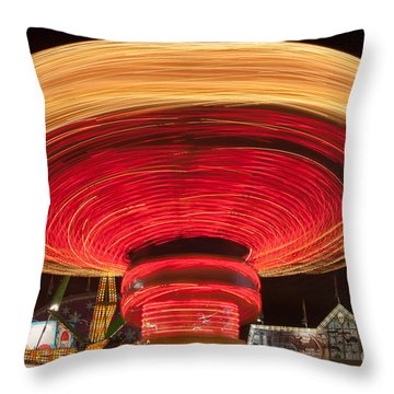 State Fair Vii Throw Pillow by Clarence Holmes