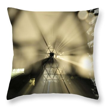State Of The Art Throw Pillow by David Lee Thompson