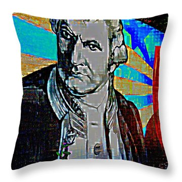 Statesmen Throw Pillow by Randall Weidner