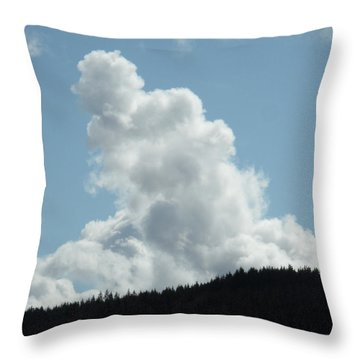 Statuesque Throw Pillow by James Barnes