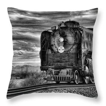 Steam Train No 844 - Iv Throw Pillow