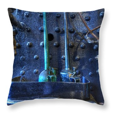Steampunk 3 Throw Pillow by Bob Christopher