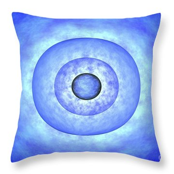 Stellar Core Before Grb Event, Computer Throw Pillow by NASA / Science Source