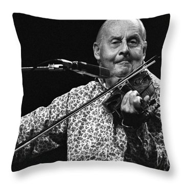 Stephane Grappelli 1 Throw Pillow