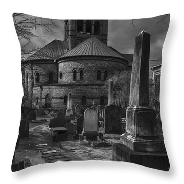 Steps Back In Time Throw Pillow by Lynn Palmer
