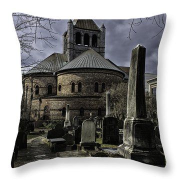 Steps In Time Throw Pillow by Lynn Palmer