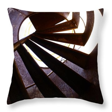 Steps Two See  Throw Pillow by Empty Wall