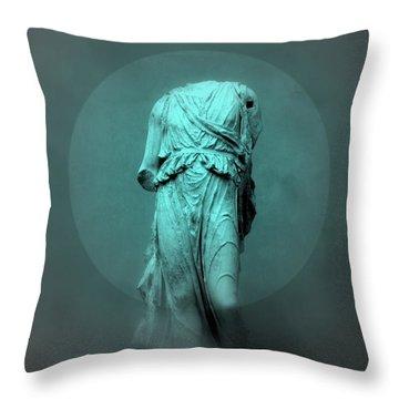 Still Life - Robed Figure Throw Pillow