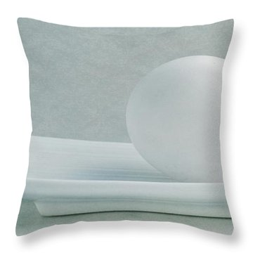 Still Life With An Egg Throw Pillow