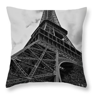 Throw Pillow featuring the photograph Still Standing by Eric Tressler