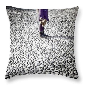 Still Standing Throw Pillow by Joana Kruse