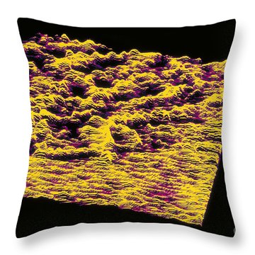 Stm Of Dna Throw Pillow