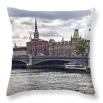 Stockholm Throw Pillow by Mauro Celotti