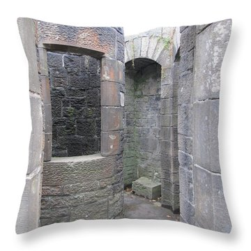 Stone Archwork Throw Pillow