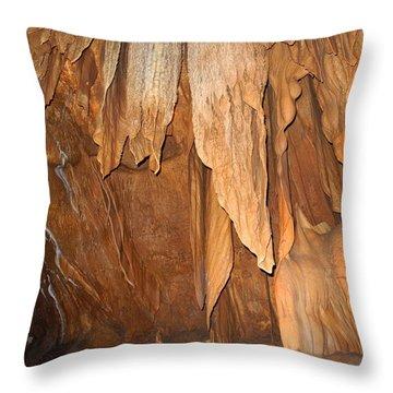 Stone Fold Elegance Throw Pillow