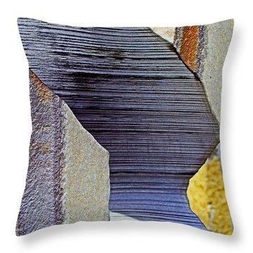Stone Geometrics Throw Pillow