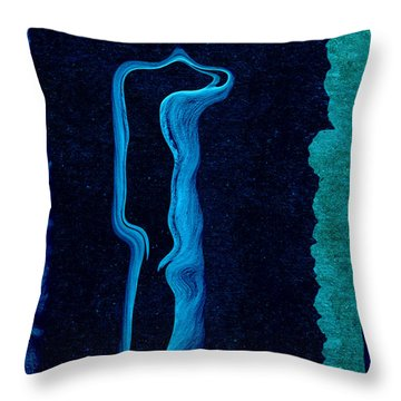 Stone Men 01c2 - Her Throw Pillow by Variance Collections