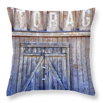 Storage - Architectural Photography Throw Pillow by Karyn Robinson
