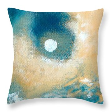 Throw Pillow featuring the painting Storm by Ana Maria Edulescu
