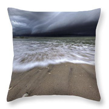 Storm Rolling Throw Pillow