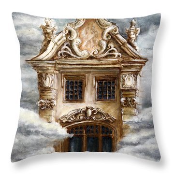 Stormy  Frustration Throw Pillow