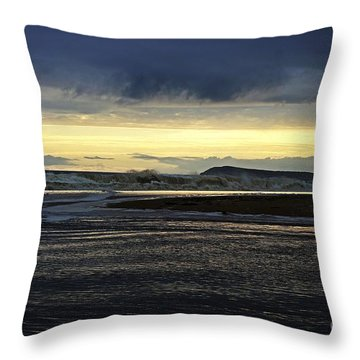 Throw Pillow featuring the photograph Stormy Morning 2 by Blair Stuart