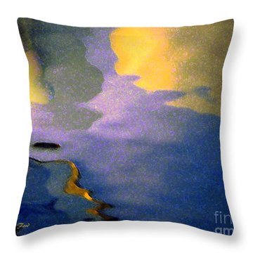 Strange Landscape 2 Throw Pillow
