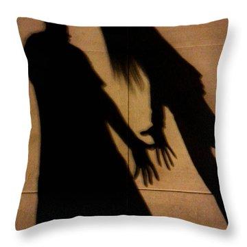 Street Shadows 006 Throw Pillow