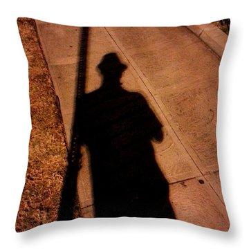 Street Shadows 008 Throw Pillow