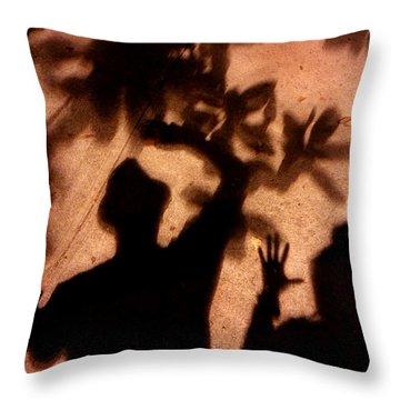Street Shadows 010 Throw Pillow