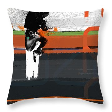 Streets Throw Pillow