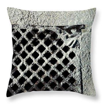 Streets Of Coronado Island 12 Throw Pillow by Marlene Burns