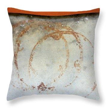 Streets Of La Jolla 10 Throw Pillow by Marlene Burns