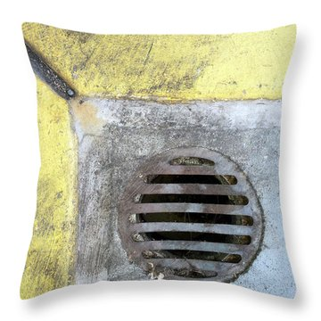 Streets Of La Jolla 12 Throw Pillow by Marlene Burns