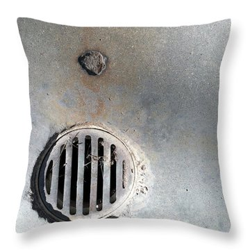 Streets Of La Jolla 13 Throw Pillow by Marlene Burns