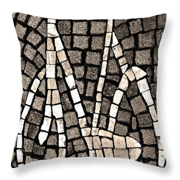 Streets Of Maastricht Throw Pillow by Juergen Weiss