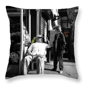 Streets Of New York 8 Throw Pillow by Andrew Fare