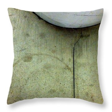 Streets Of New York Abstract Five Throw Pillow by Marlene Burns
