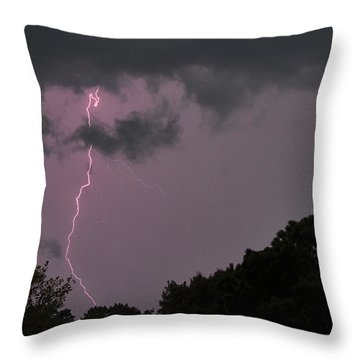 Striking Throw Pillow by Tazz Anderson