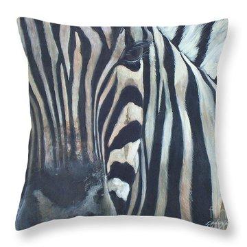 Stripes...sold  Throw Pillow